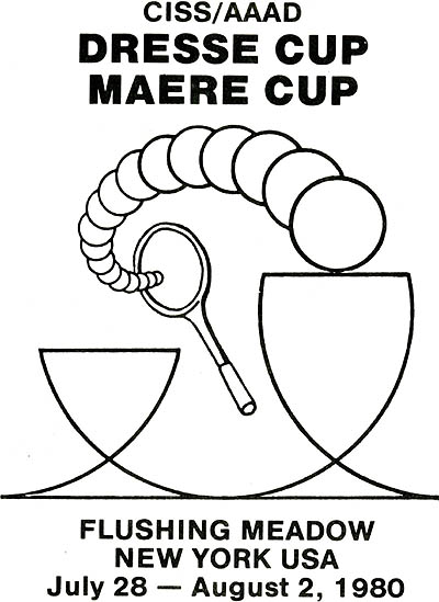 Photo: 1980 Dresse and Maere - Tennis Cup Poster