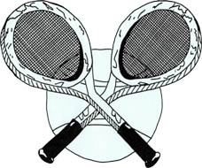 Photo: 1987 Dresse and Maere - Tennis Cup Emblem