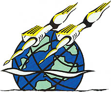 Photo: 1995 World Deaf Swimming Championships Emblem