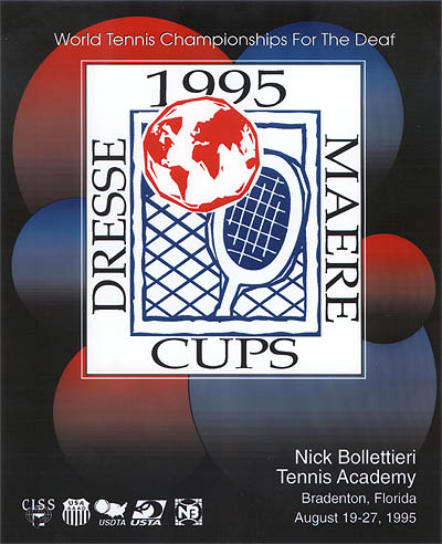 Photo: 1995 Dresse and Maere - Tennis Cup Poster