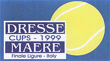 Photo: 1999 Dresse and Maere - Tennis Cup Emblem