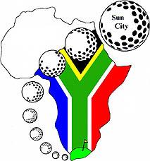 Photo: 2000 World Deaf Golf Championships Emblem