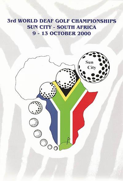 Photo: 2000 World Deaf Golf Championships Poster