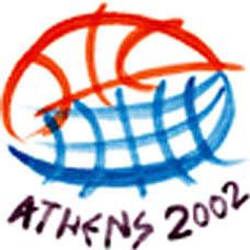 Photo: 2002 World Deaf Basketball Championships Emblem