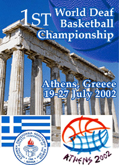 Photo: 2002 World Deaf Basketball Championships Poster