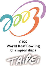 Photo: 2003 World Deaf Bowling Championships Emblem