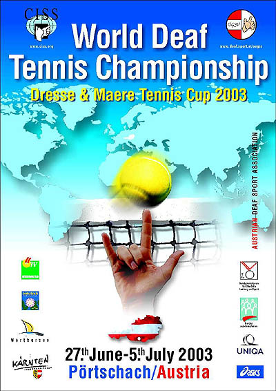Photo: 2003 Dresse and Maere - Tennis Cup Poster