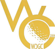 Photo: 2004 World Deaf Golf Championships Emblem