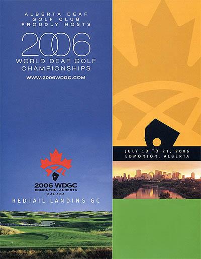 Photo: 2006 World Deaf Golf Championships Poster
