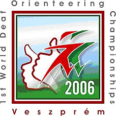 Photo: 2006 World Deaf Orieteering Championships Emblem