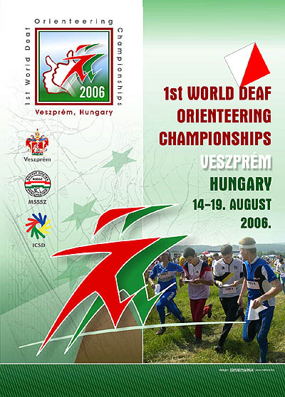 Photo: 2006 World Deaf Orieteering Championships Poster