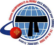 Photo: 2008 World Deaf Martial Arts Championships Emblem