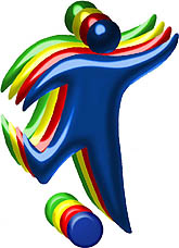 Photo: 2008 World Deaf Football Championships Emblem
