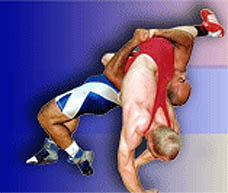 Photo: 2008 World Deaf Wrestling Championsihps Embelm