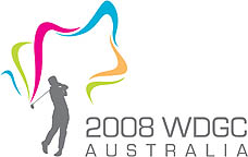 Photo: 2008 World Deaf Golf Championships Emblem