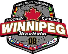 Photo: 2009 World Deaf Ice Championships Emblem