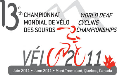 Photo: 2011 World Deaf Cycling Championships Poster
