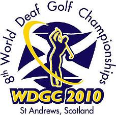 Photo: 2010 World Deaf Golf Championships Emblem