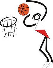 Photo: 2010 U21 World Deaf Basketball Championships Emblem