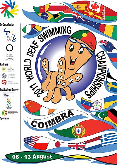 Photo: 2011 World Deaf Swimming Championships Poster