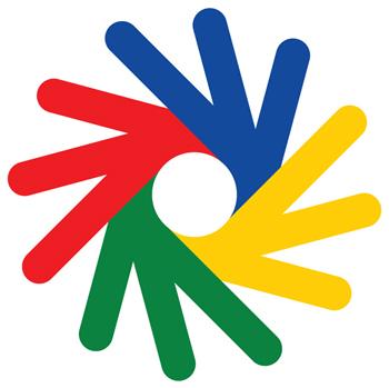 Deaflympics logo without logotype