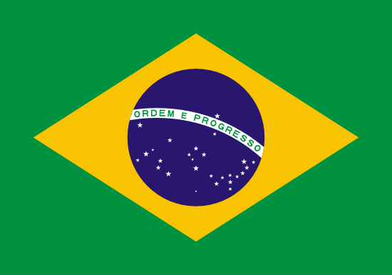 Flag: Brazil