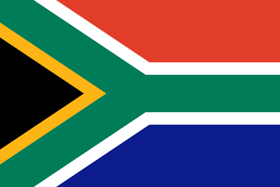 Flag: South Africa